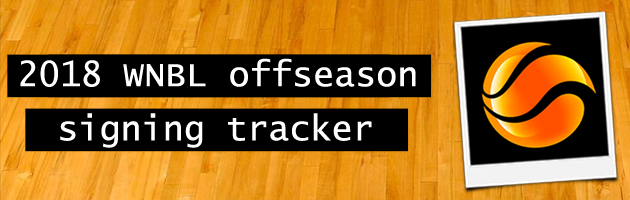 2018 WNBL offseason signing tracker